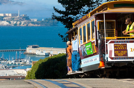 Street Cars in San Francisco NorCal Destinations Guided Tours San Francisco California Wine County Napa Muir Woods Monterey Yosemite Groups 2